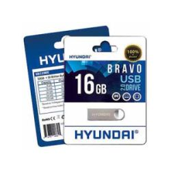 d9d214cd712151 Hyundai 16GB Bravo Keychain USB 2.0 Flash Drive MHYU2BK16G